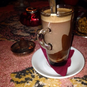 The best Vana Tallinn hot chocolate in Tallinn - at Chocolats du Pierre.