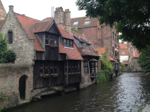 Bruges (Brugge), a lovely - if not weird - city!!