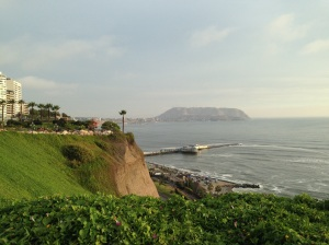 Summer in Miraflores, Lima